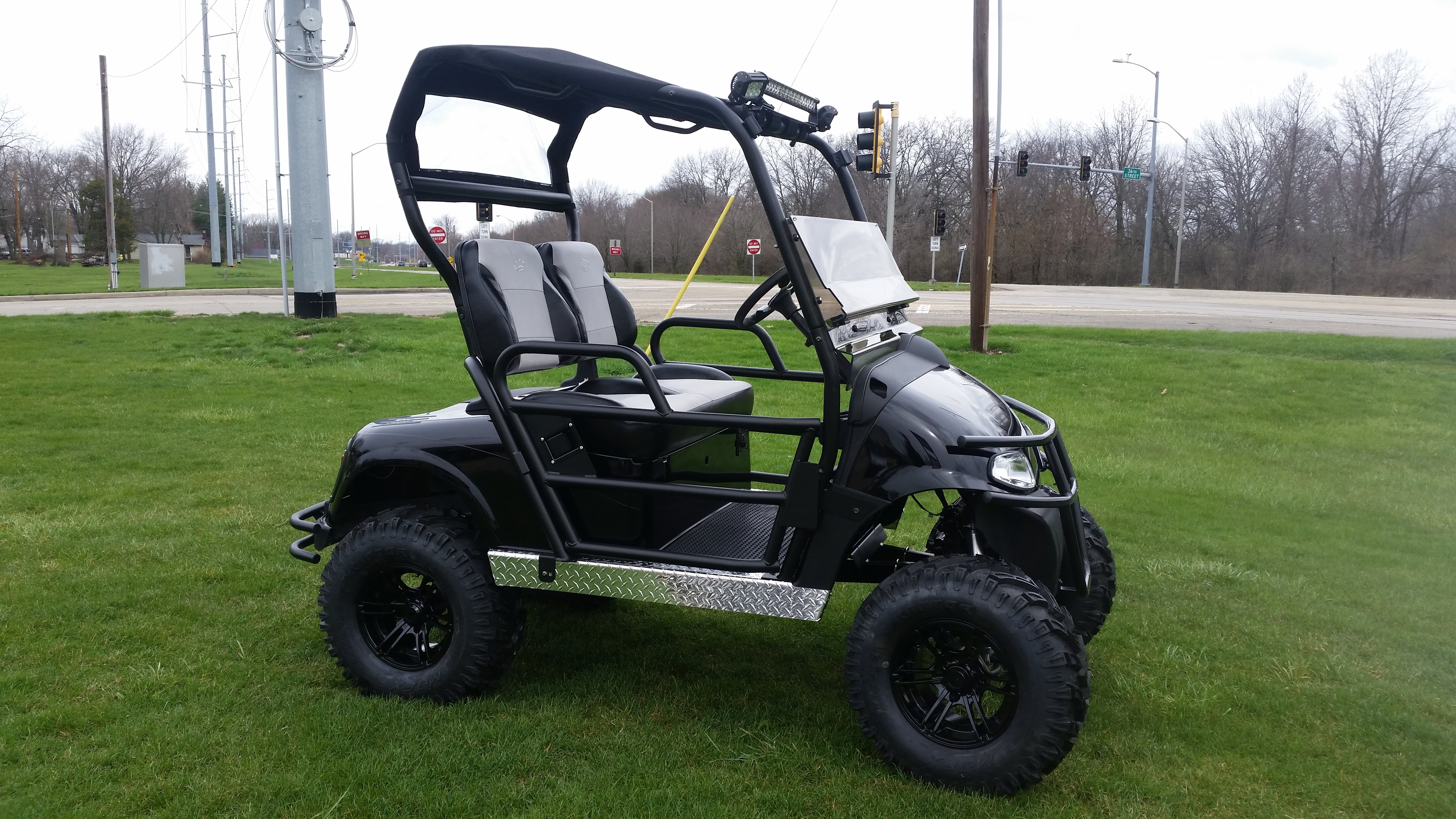 Radical Ez Go Rxv With Utv Styling Express Custom Carts