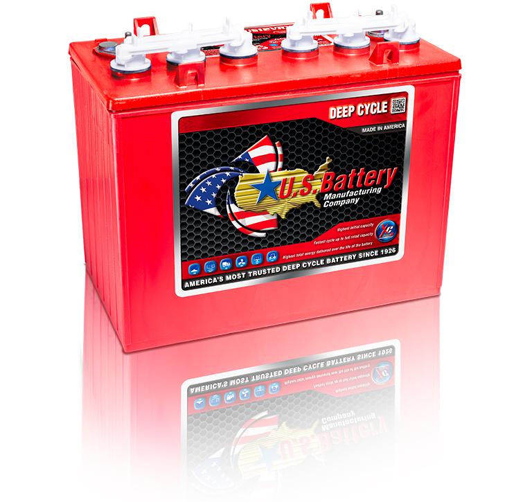 12 Volt Us Battery Us12vxz Express Custom Carts